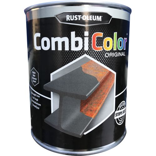 Rust-oleum Combicolor antiroest primer en finish smeedijzer zwart 750ml
