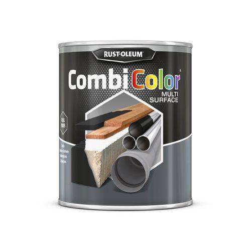 Rust-oleum Combicolor antiroest primer en finish zwart zijdeglans 250ml