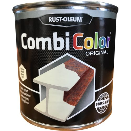 Rust-oleum Combicolor anti-roest primer en finish wit zijdeglans 250ml
