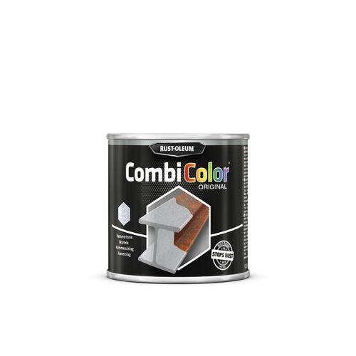 Peinture Rust-Oleum 'Combi Color' martelée gris foncé 250ml