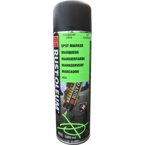 Rust-oleum niet-permanente fluorescerende grondmarkeringsspray groen 500ml