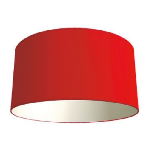 Abat-jour Home Sweet Home 'Bling' rouge Ø 50 cm