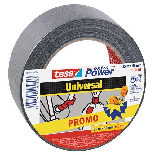 Ruban Adhésif Tesa Extra Power universal tape 50mmx25m+5m extra