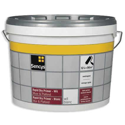 Sencys Rapid Dry M&P Primer Wit 2,5L