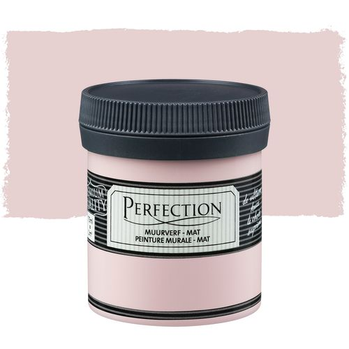Perfection muurverf mat oudroze 75ml
