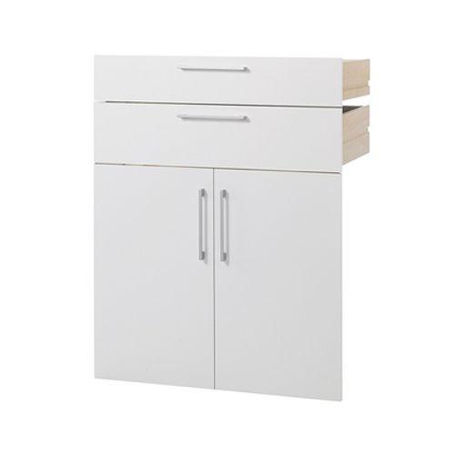 Armoire modulaire Prima 'Double tiroir et double porte'