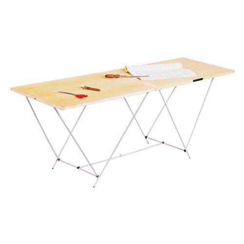 Table à tapisser pliable Ocai pieds fer 2 m x 60 cm