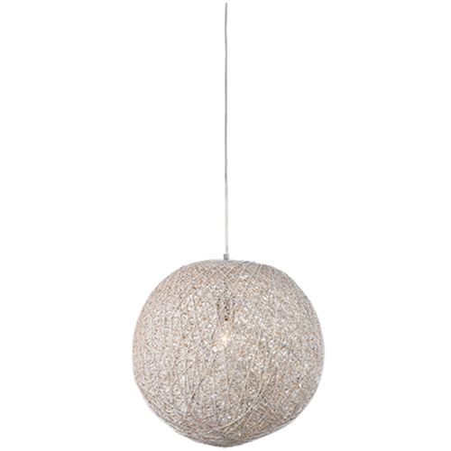 Besselink hanglamp Cocon rond wit