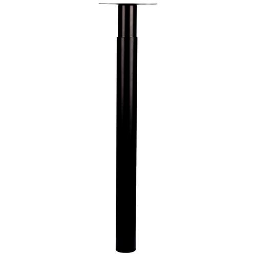 Duralinem eubelpoot 'Tess' metaal rond zwart 72 cm