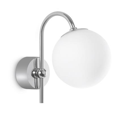 Philips wandlamp 'Silvery' chroom 42W