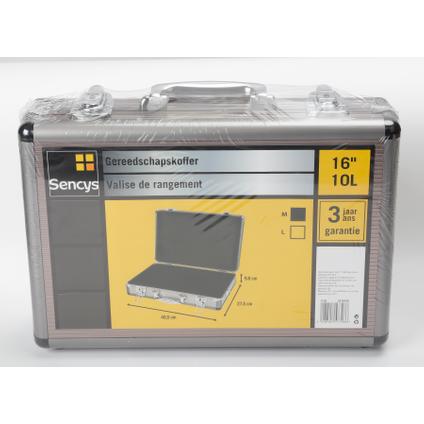 Sencys gereedschapskoffer aluminium 40,5 cm
