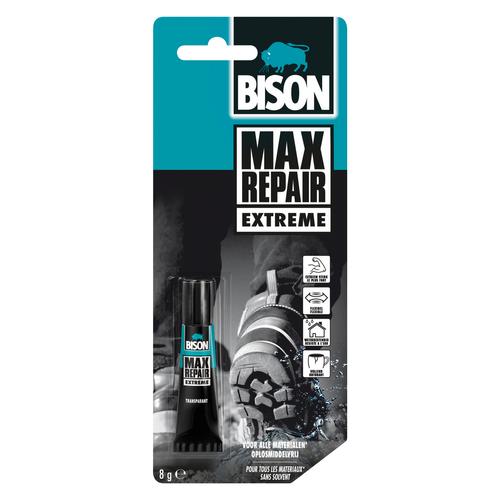 Bison universele lijm Max Repair Extreme 8g
