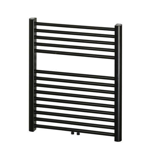 Radiateur sèche-serviette Haceka 'Gobi' noir 69x59cm