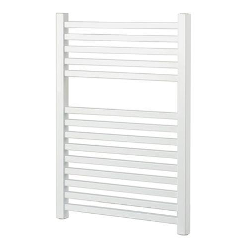 Radiateur sèche-serviette Haceka 'Gita' blanc 69x59cm