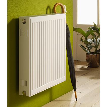 Radiateur chauffage central Haceka 'Uno' blanc 60x110cm