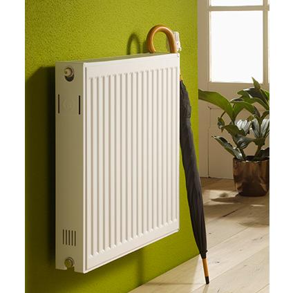 Radiateur chauffage central Haceka 'Duo' blanc 50x60cm