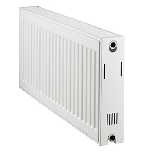 Radiateur chauffage central Haceka 'Duo' blanc 50x80cm