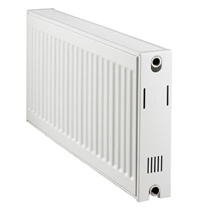 Radiateur chauffage central Haceka 'Duo' blanc 50x100cm