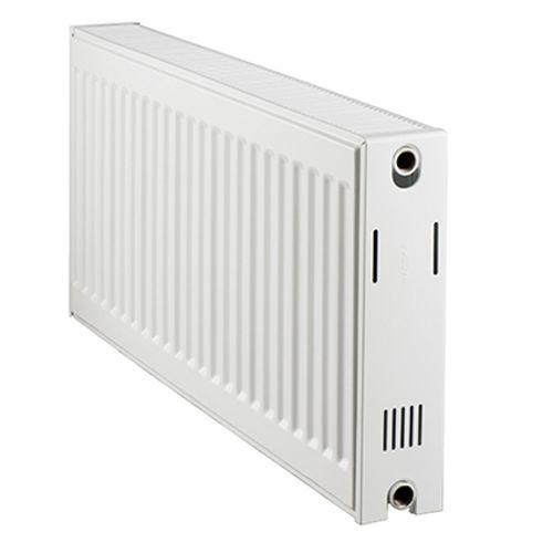 Haceka paneelradiator 'Duo' wit 50x100cm