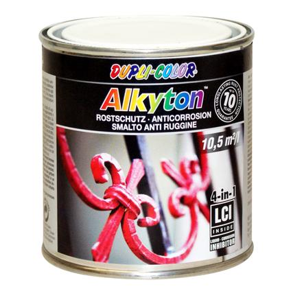 Peinture Dupli-Color Alkyton antirouille rouge haute brillance 250 ml