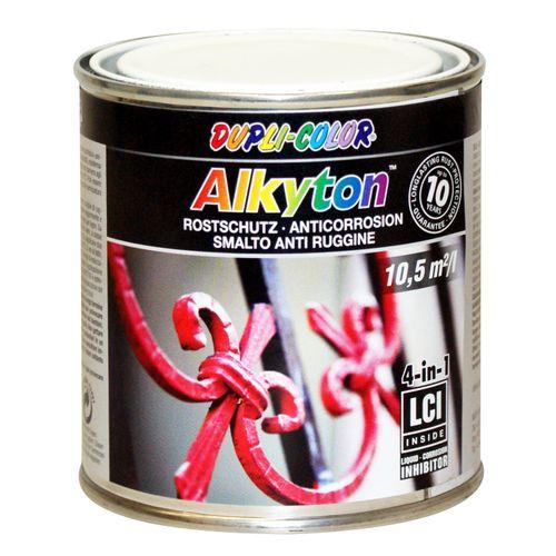 Dupli-Color Alkyton roestbeschermingslak zwart iron mica 250 ml