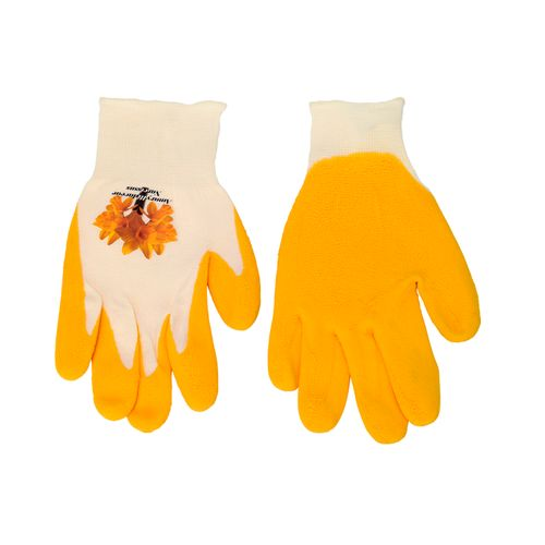 Busters Flower Power handschoen geel M