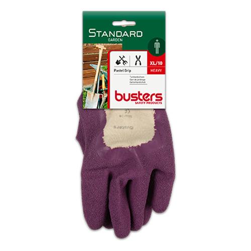Gants Busters 'Pastel grip' coton/latex T10
