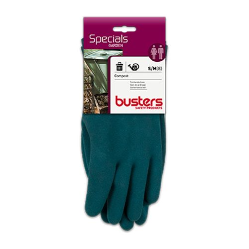 Gants Busters 'Compost' coton/latex T8