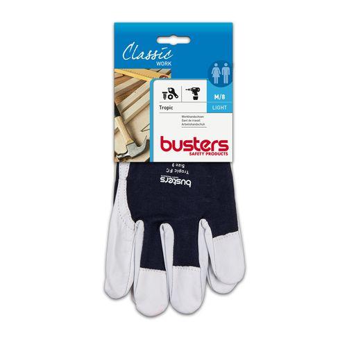 Busters handschoenen Tropic geitenleder M8