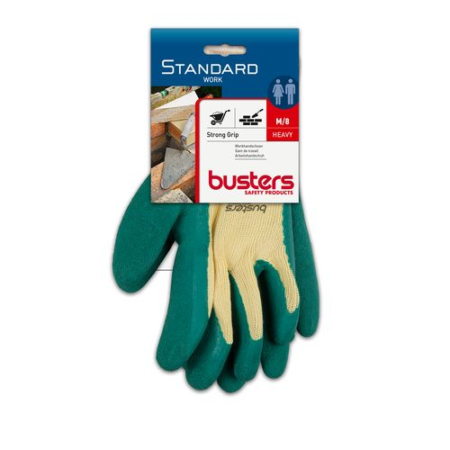 Gants Busters 'Strong grip' polyester/coton/latex T8