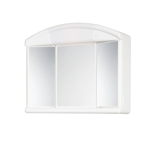 Armoire de toilette Allibert 'Naty' 3 miroirs
