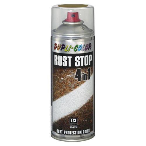 Spray anti-rouille Dupli-Color 'Rust Stop' gris alu 400ml