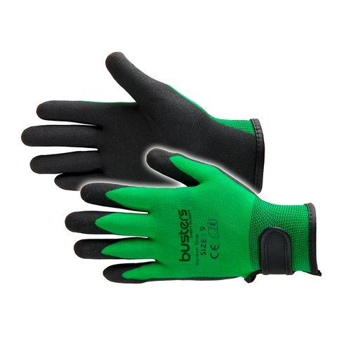 Busters Garden Grip handschoen groen L/XL