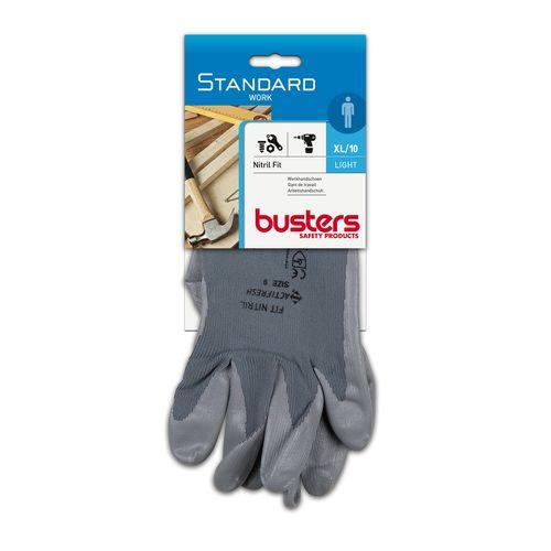 Handschoen nitril fit m10