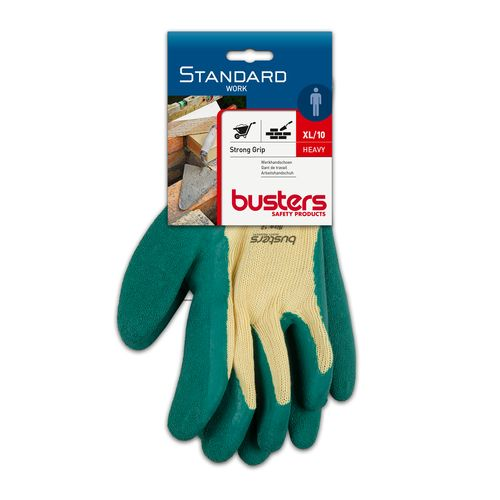 Gants Busters 'Strong grip' polyester/coton/latex T10