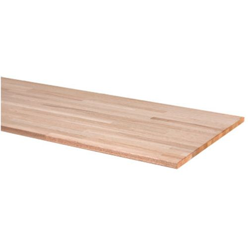 Fsc cando werkblad hardhout massief 2,6 x 61 x 250cm
