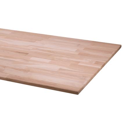 Fsc cando werkblad eiken massief 2,5 x 80 x 200cm