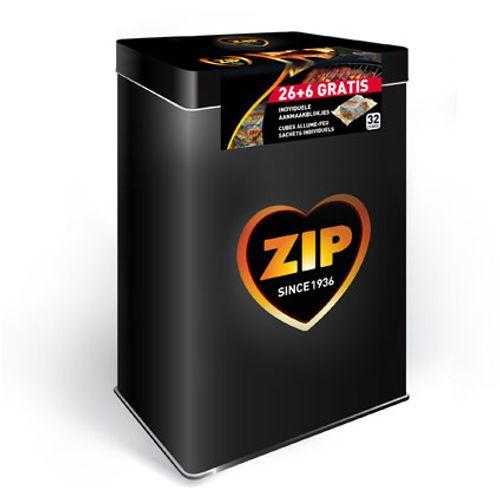Zip aanmaakblokjes 'Energy' - 32 stuks