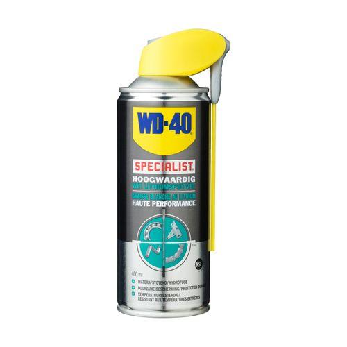 WD40 wit lithiumspuitvet 'Specialist' 400 ml