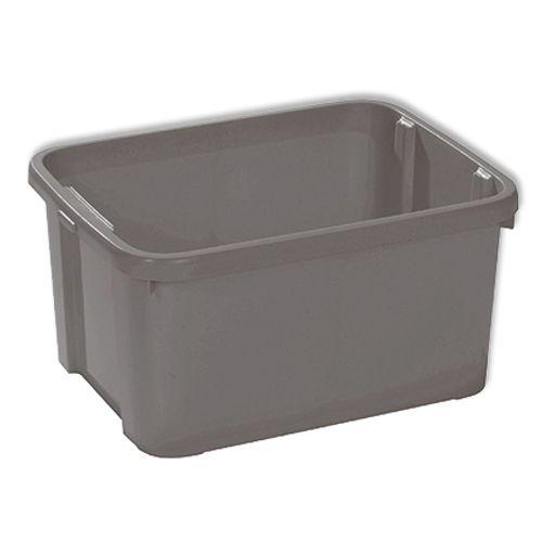 Boîte de rangement Allibert 25 L gris
