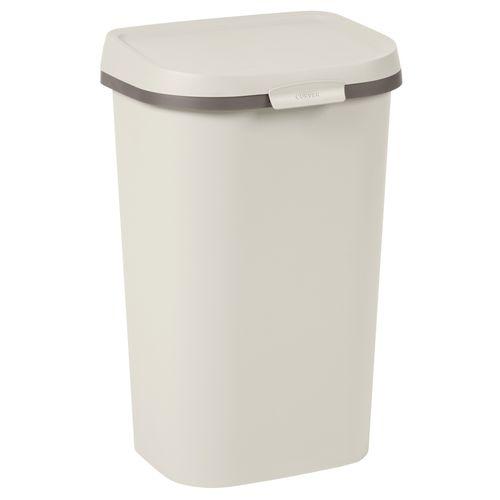 Curver vuilnisbak Mistral Flat recycled PVC beige 50L