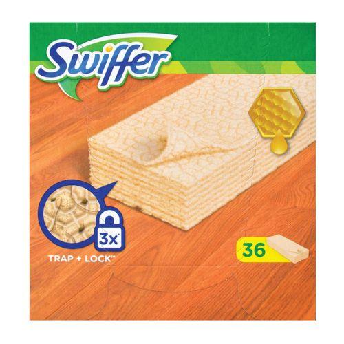 Swiffer doekjes voor hout en parket - 36 stuks