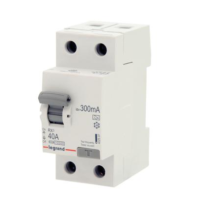 Interrupteur différentiel Legrand 'RX3' 2 pôles 300 mA