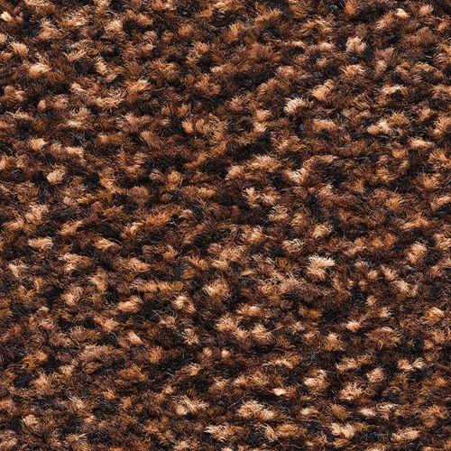 Deurmat Portal bruin 40x60cm polyamide