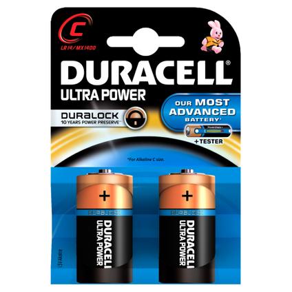 Pile alcaline Duracell Ultra Power 'C - LR14' 1,5 V - 2 pcs