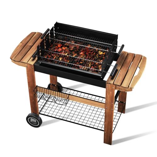 Central Park barbecue Faro grijs 124cm