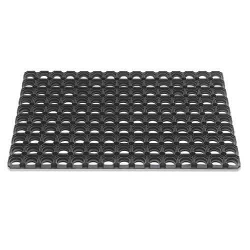 Deurmat Domino zwart 40x60cm
