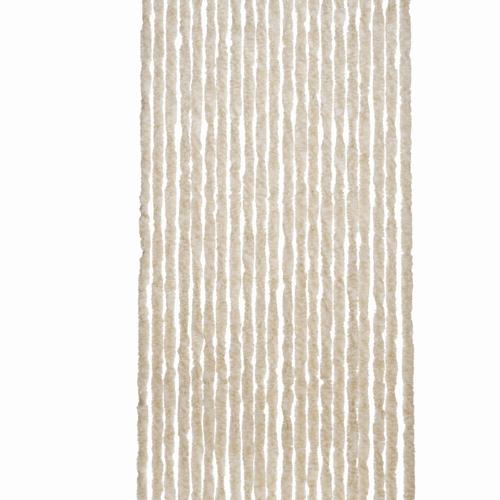 2LIF deurgordijn Martinique 93x210cm beige-wit
