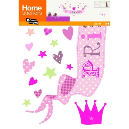 Nouvelles Images sticker kids princess 49 x 69 cm