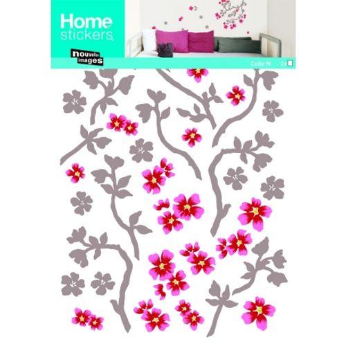 Sticker cerisier Nouvelles Images 49 x 69 cm
